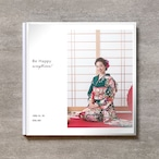 Be Happy-WT(Vertical)-成人式_A4スクエア_10ページ/20カット_クラシックアルバム(アクリルカバー)