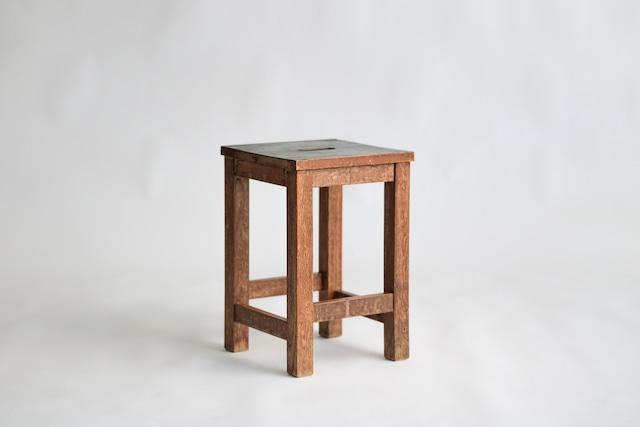 図工椅子 / アムステルダムグリーン / エイジング