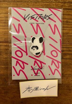 【GOODS】VISITORSピンズ 牛木匡憲/Masanori Ushiki