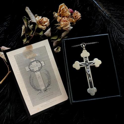 十字架と髑髏のデスカード