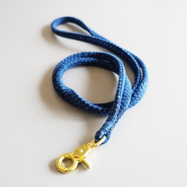 うしじま縫製 | 武州正藍染 コード 二重刺子 ブルー
