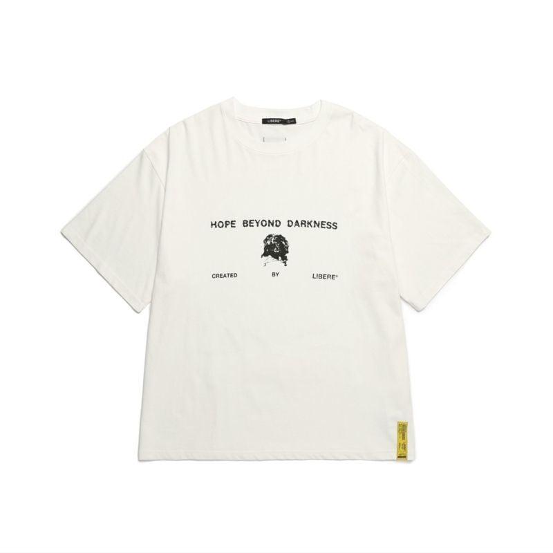 211208 FLOWER BONE TEE / WHITE