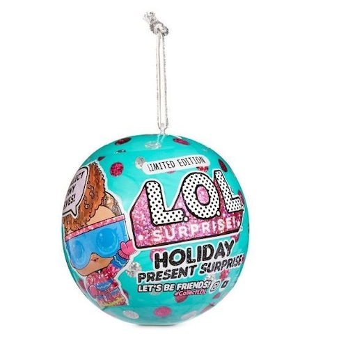 L.O.L. Surprise! Holiday Present Surprise Dolls with 7 Surprises