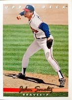 MLBカード 93UPPERDECK John Smoltz #363 BRAVES