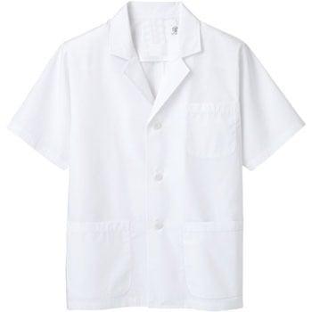 【B品アウトレット】半袖 メンズ白衣