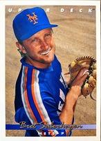 MLBカード 93UPPERDECK Bret Saberhagen #282 METS