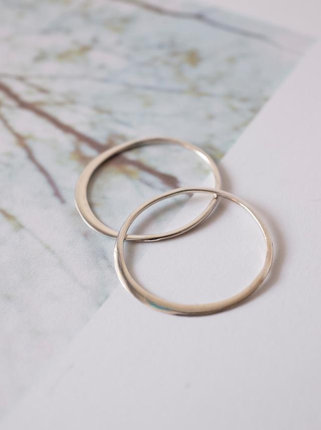 Circle Link Parts 18mm / Silver - 017