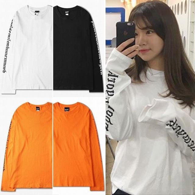 ユニセックス 長袖 Tシャツ メンズ レディース 袖プリント オーバーサイズ 大きいサイズ ストリート TBN-560085974241
