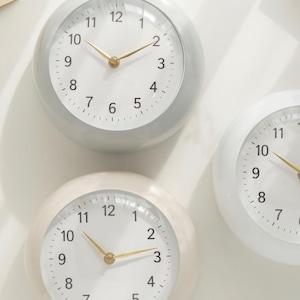 round retro clock 3colors / ラウンドレトロ 置き時計 壁掛け時計 韓国雑貨