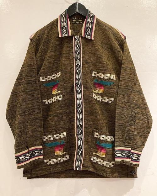 GUATEMALA 刺繡シャツ