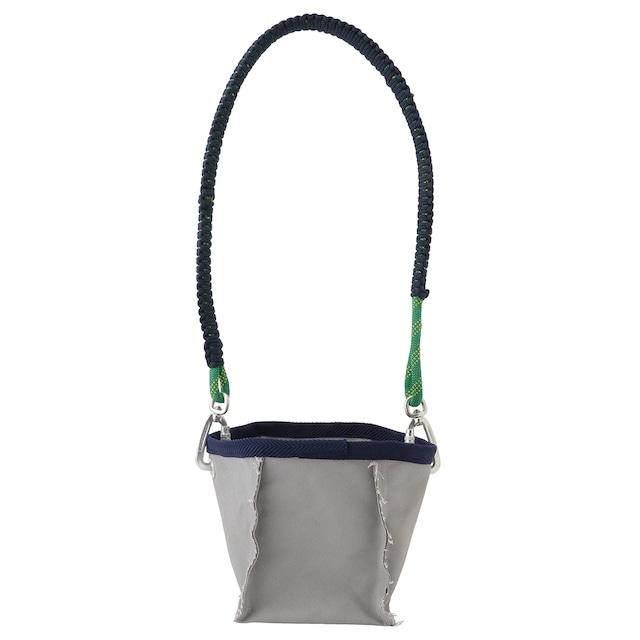 Sound type shoulder bag / Gray - メイン画像