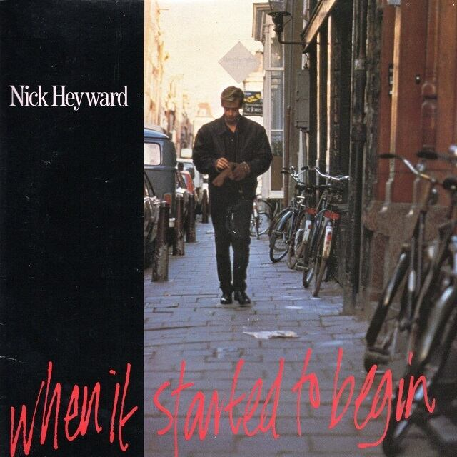 【7inch x2・英盤】Nick Heyward / On A Sunday ・When It Started To Begin