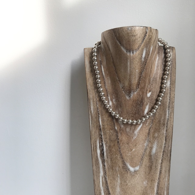 Indian Jewelry Navajo Pearl Ball Necklace 1