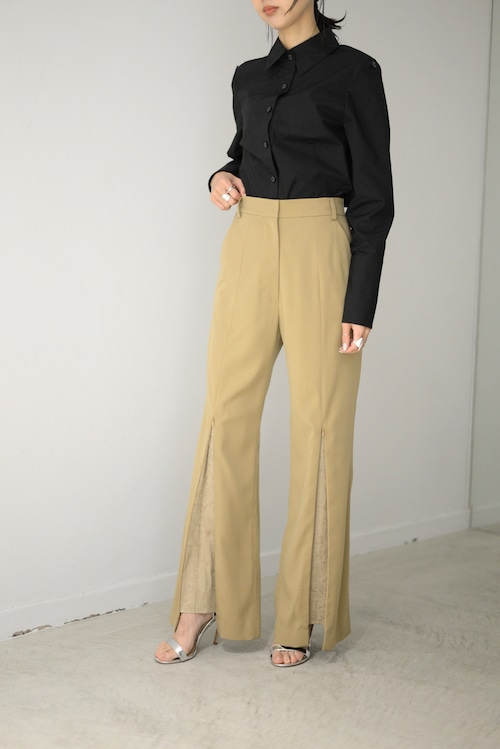 ROOM211 / Flare Paisley Trousers