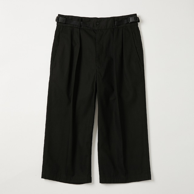 """【product almostblack】""""PPT06 wide cropped"""""""