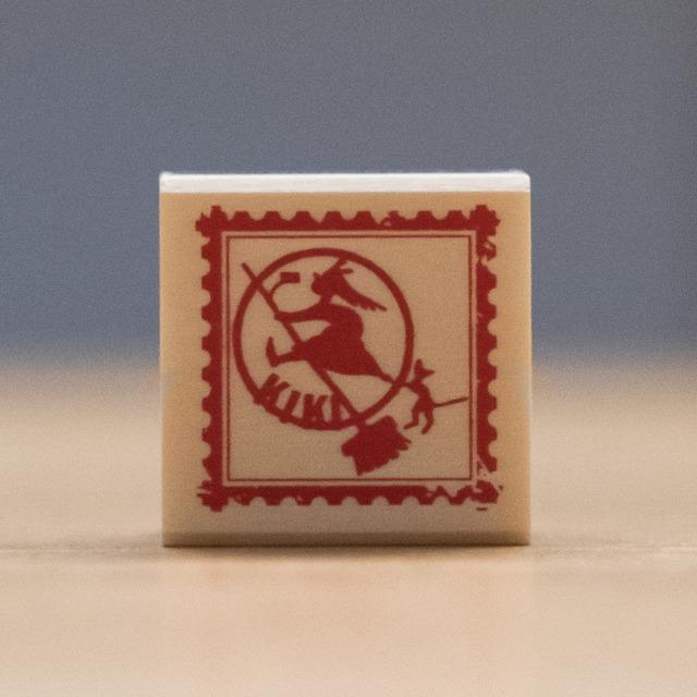 魔女の宅急便 木製スタンプ 30×30(切手/7949)