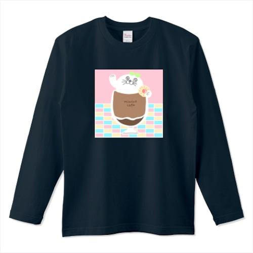 アザラシコーヒー / 5.6オンスロングTシャツ (Printstar)