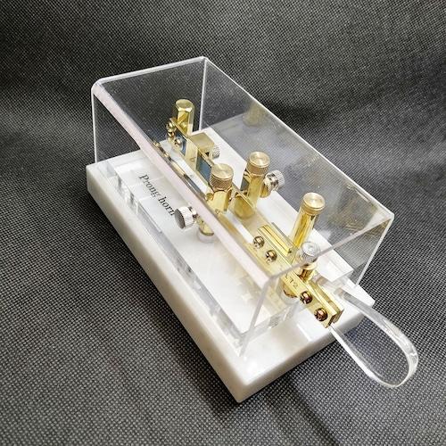 電鍵 シングルレバーパドル Prong horn