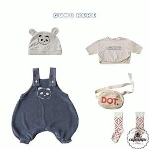 «sold out»«bebe» guno bebe panda 2colors パンダスーツ