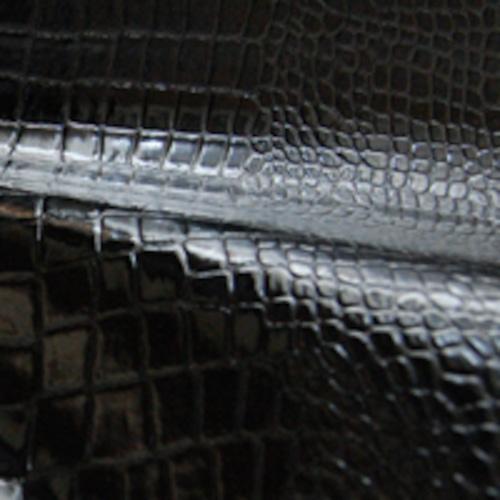 エナメル・クロコダイル 合成皮革 レザー シート 生地