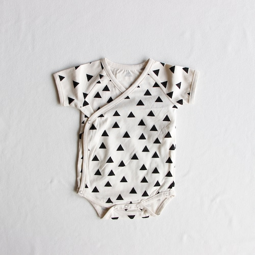 《chocolatesoup》GEOMETRY rompers / triangle / one size(70-80cm)