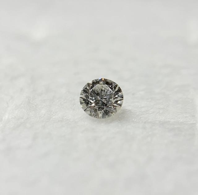 ダイヤモンド 0.151ct 簡易ソーティング付き No:19W-4021