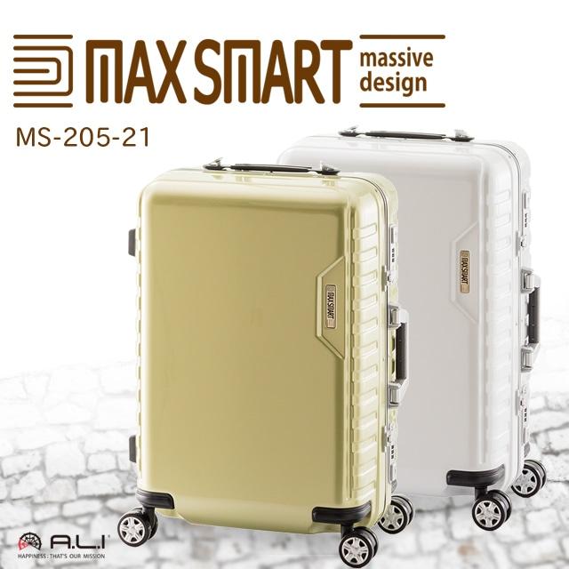 【1〜2泊用】MAXSMART MS-205-21 38L【機内持ち込み対応サイズ】