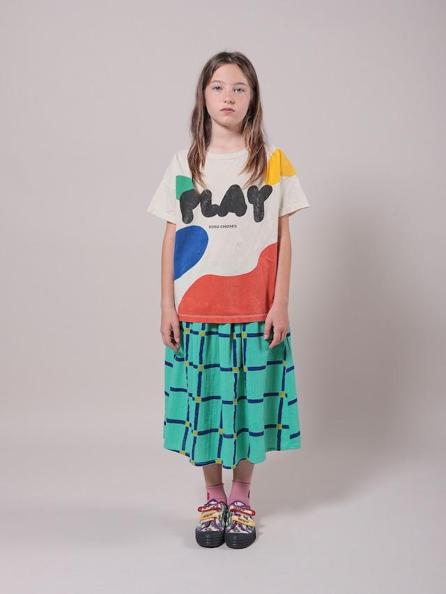 【入荷済】bobochoses(ボボショセス)Cube All Over Woven Midi Skirt スカート