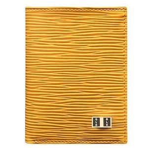 ゴールドブラック(GOLDBLACK) BIFOLD SLIM WALLET UNICO YELLOW