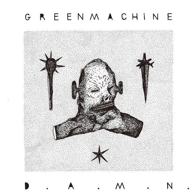 GREENMACHiNE - D.A.M.N.(CD)