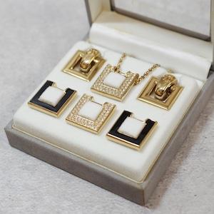 Christian Dior ディオール イヤリング ネックレス セット アクセサリー
