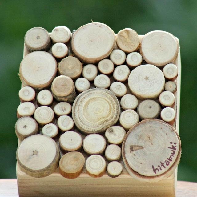 【富良野 森の贈り物】 森の小枝の飾り箱3(小物入れ)
