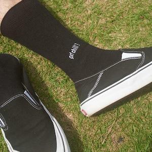 SURF SKATE CAMP Rib Socks