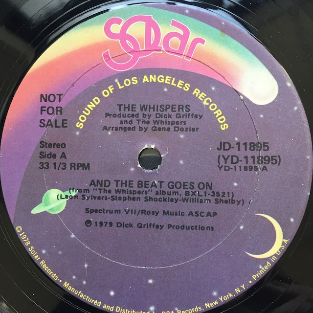 The Whispers – And The Beat Goes On