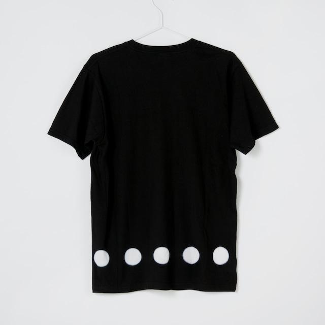 黒紋付Tshirt 「黒紋 -くろもん-(Black crest)」2