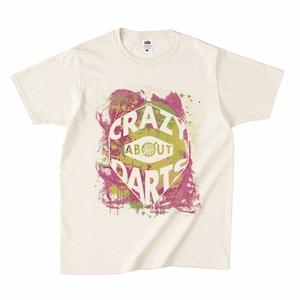 ペイントロゴTシャツ(CRAZY ABOUT DARTS)