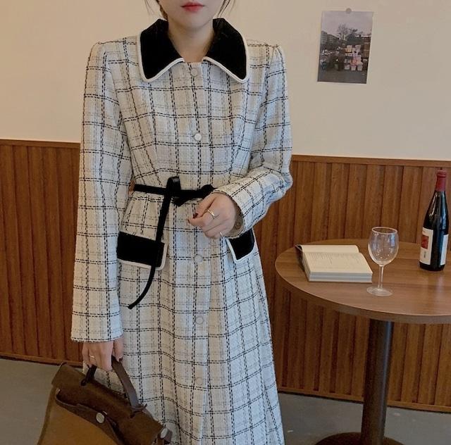 check long dress coat
