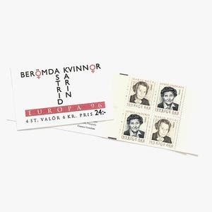 切手帳(未使用)「1996年版 EUROPA切手 - 著名な女性たち(1996)」