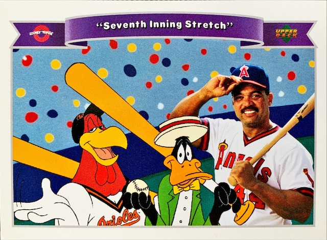 MLBカード 92UPPERDECK Looney Tunes #196