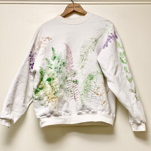 90's  Leeハンドペイントスウェットシャツ made in USA