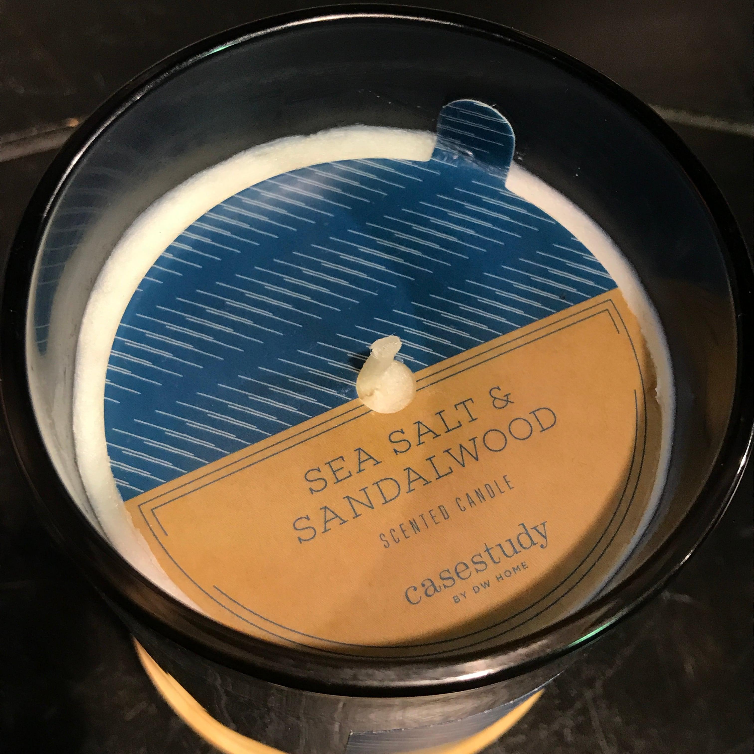 【DW Home Candles】SEA SALT & SANDALWOOD【アロマキャンドル】