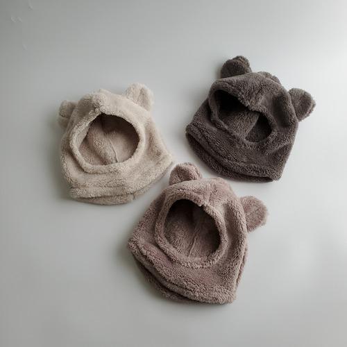 【即納】fluffy fleece bear hat〔fluffyフリースベアハット〕 here i am