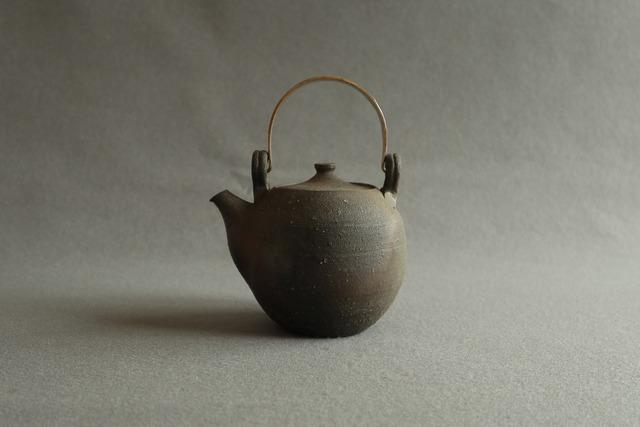 ▪️上野剛児:南蛮焼締 土瓶B