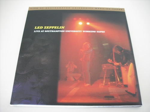 【2CD】LED ZEPPELIN / LIVE AT SOUTHAMPTON UNIVERSITY WORKING TAPES