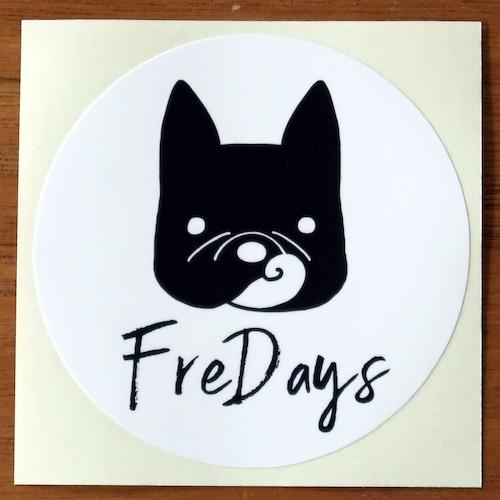FreDays ロゴステッカー