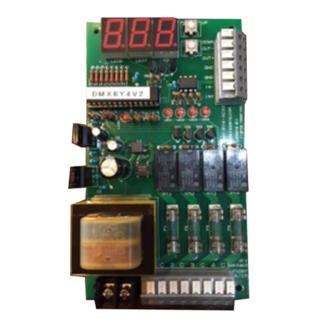 DMX対応 リレー 4ch基板
