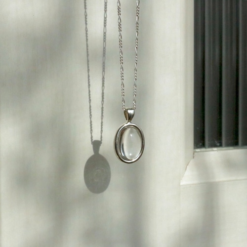 crystal necklace silver925