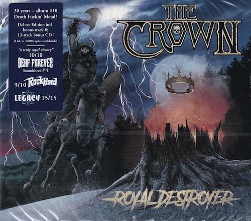 THE CROWN 『Royal Destroyer (2CD & Digi)』