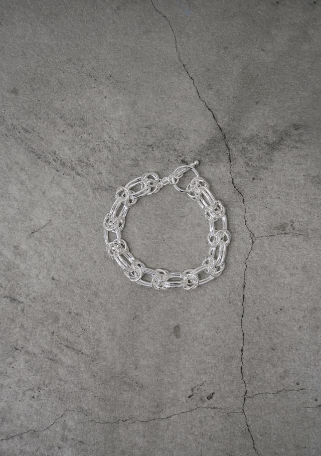"""Addiction   chain  bracelet silver925 """"double"""""""