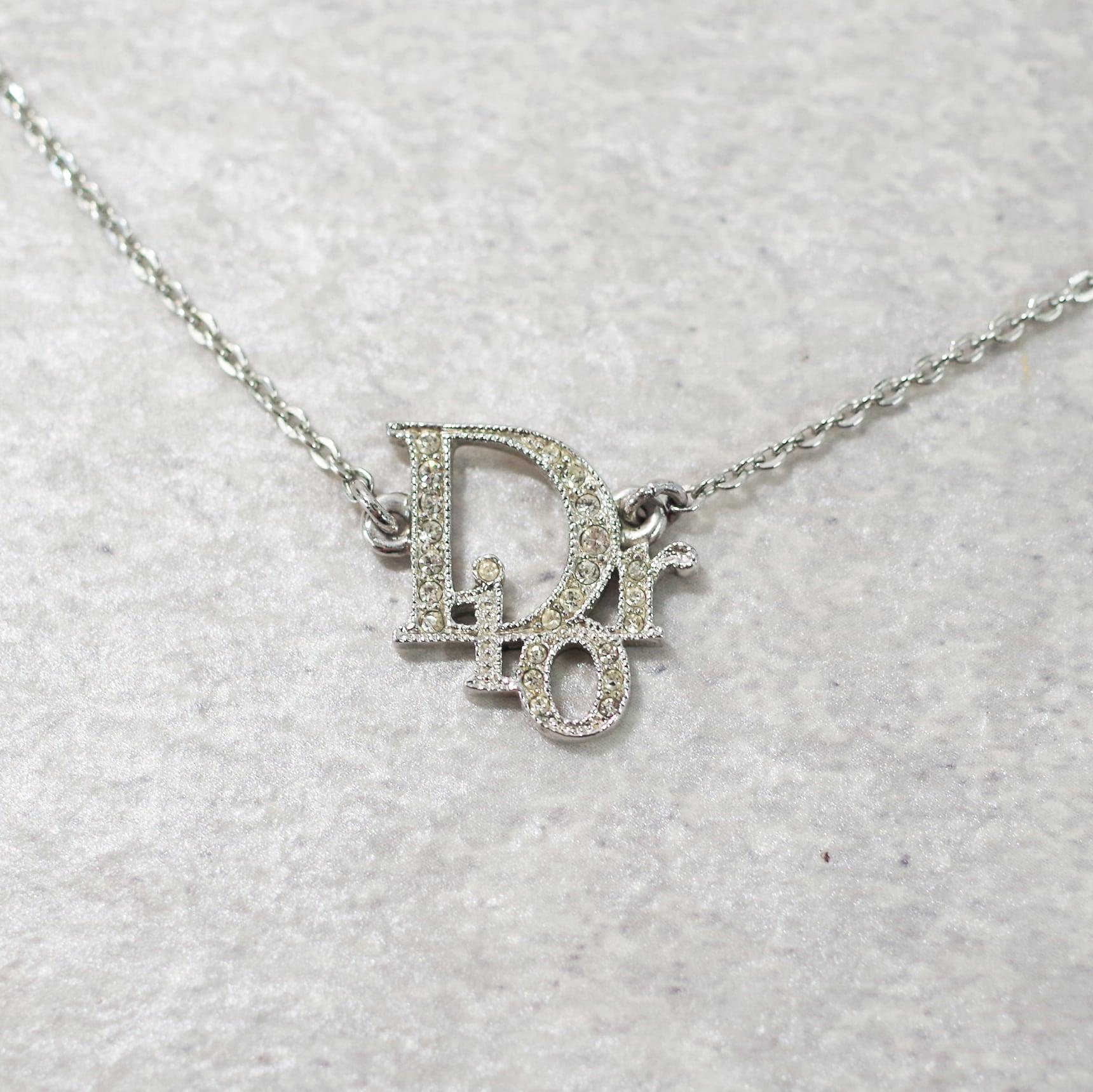 Christian Dior ディオール ネックレス シルバー アクセサリー